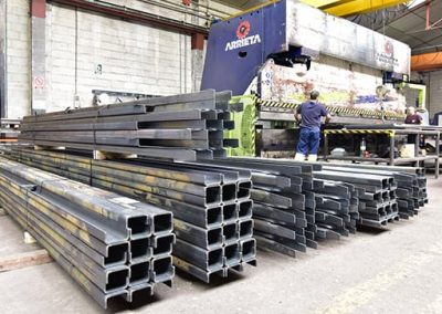 Tapasa 7- METER-LONG BENT SHEET METAL