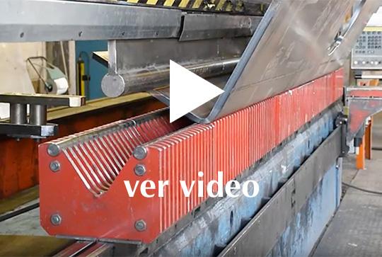 Servicios Tapasa chapa ver video plegadora hidraulica
