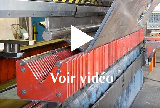 Services Tapasa voir vidéo de pliage hydraulique